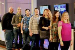 The staff of Brookline Interactive Group and its project, the Public VR Lab.